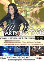 ALL WHITE PARTY BUS TOUR