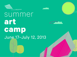 Broad MSU Summer Art Camp 2013