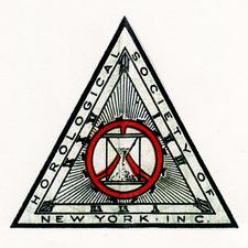 Horological Society of New York logo