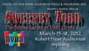 "AVPA presents ""Sweeney Todd: The Demon Barber of Fleet..."