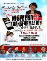 The Moment Of Your Transformation Conference