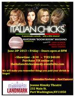 THE ITALIAN CHICKS COMEDY & VARIETY SHOW