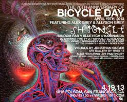 BICYCLE DAY w/ ALEX GREY, SHPONGLE, RANDOM RAB - BUY...