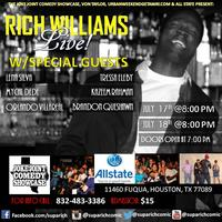RICH WILLIAMS AND FRIENDS LIVE AT THE JOKE JOINT COMEDY...