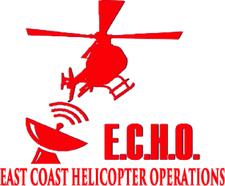 East Coast Helicopter Operations (E.C.H.O.) logo