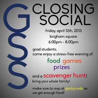 GSS Closing Social