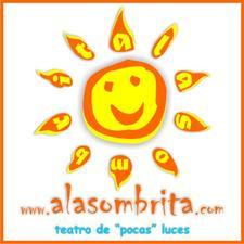 A LA SOMBRITA, teatro de pocas luces. logo