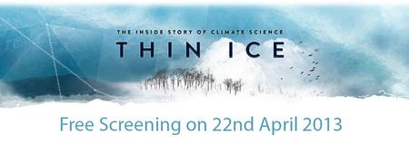"Free Screening ""Thin Ice: The Inside Story of Climate..."