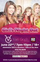 DONNIE B's OUTRAGEOUS GIRLS NIGHT OUT w/MEN IN MOTION @ VAN GOGH...