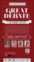 Emancipation Day Great Debate