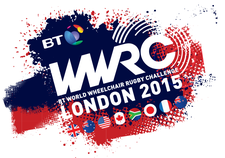 BT World Wheelchair Rugby Challenge logo