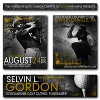 2013 Selvin L. Gordon Scholarship Golf Fundraiser