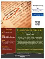 Business Research Workshop (August)