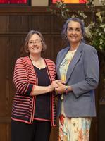 Installation for Rev. Laura Barnes Coney and Rev....