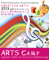 2013 CCCM C.A.S.T. Creative Arts Summer Time