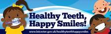 Oral Health Promoters - Public Health, Leicester City Council logo