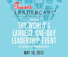 Chick-fil-A Leadercast South Charlotte Volunteer