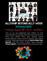 Week 2013 Closing Celebration: Allyship Beyond Ally...