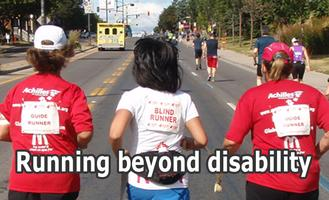 Run or Walk with Disabled Athletes in Washington Park