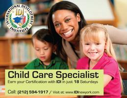Course Child Care Specialist
