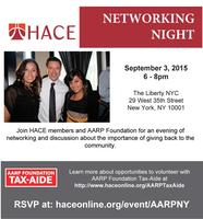 HACE & AARP Networking Night, NYC