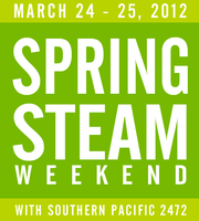 Spring Steam Train Weekend 2012