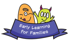 Early Learning for Families facilitated by Helen Davison logo