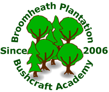 Broomheath Plantation Bushcraft Parties logo