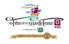 Les Fêtes de la Nouvelle-France SAQ logo