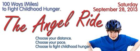 The Angel Ride, 100 Ways (Miles) to Fight Childhood Hunger
