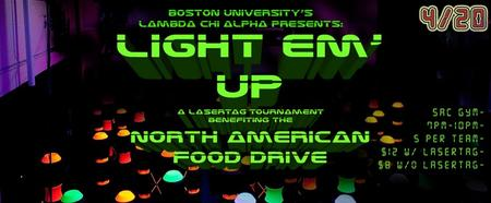 LCA Presents Light Em' Up Laser Tag