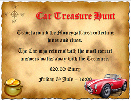 Car Treasure Hunt - American Festival Moneygall