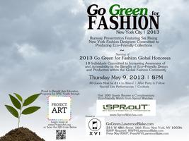 Go Green for Fashion NYC 2013