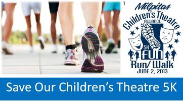 Inaugural 5K Run/Walk Benefiting Milpitas Children's Theater