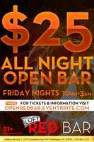 Open Bar Ticket - Friday