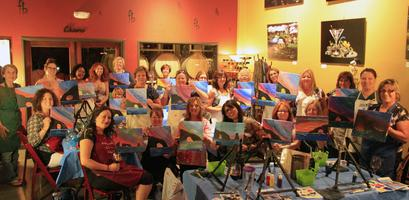 Paint and Sip at Four Brix