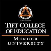 Mercer University's Tift College of Education - Online, Hybrid, Classroom logo