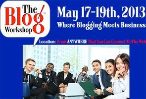 The Blog Workshop '13 - Online Conference Bloggers...