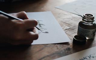 Meticulous Ink Hand Lettering Workshop - Bath