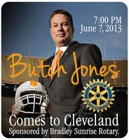 Vols Coach Butch Jones Comes to Cleveland, TN