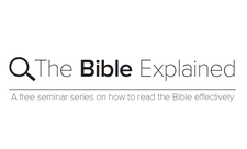 The Bible Explained logo