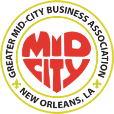 Greater Mid-City Business Association logo