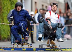 The Quickest Left Office Chair Race
