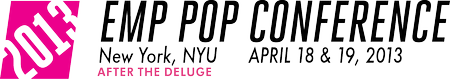 EMP Pop Conference 2013