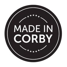 Made in Corby logo
