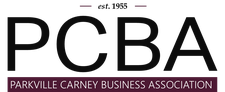 The Parkville Carney Business Association (PCBA) logo