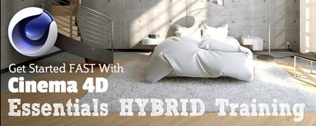 Cinema 4D Essentials Hybrid Workshop