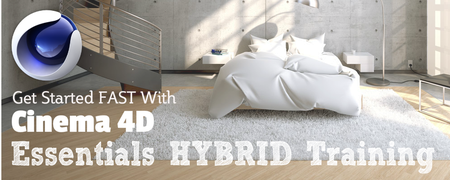 Cinema 4D Essentials Hybrid Workshop
