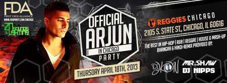 ARJUN IN CHICAGO 2013 | APRIL 18TH | EXCLUSIVE 18+