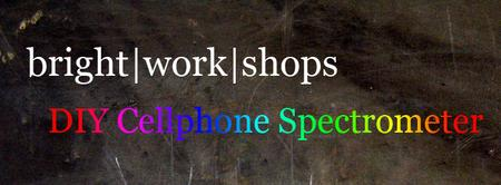 Build your own DIY Cellphone Spectrometer